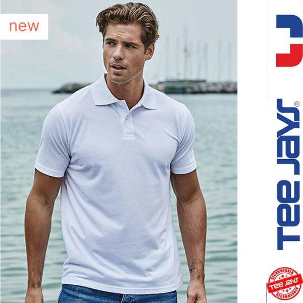 Power Poloshirt - TEE-JAYS-weiss