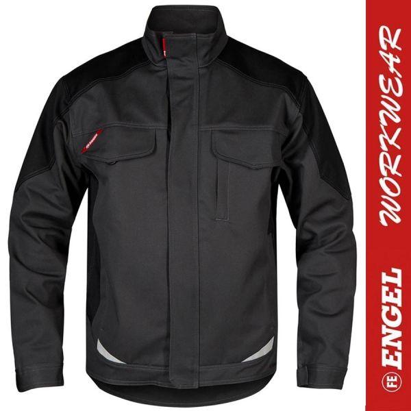 GALAXY Baumwoll - Arbeitsjacke - 1850 ENGEL Workwear-anthrazit-schwarz