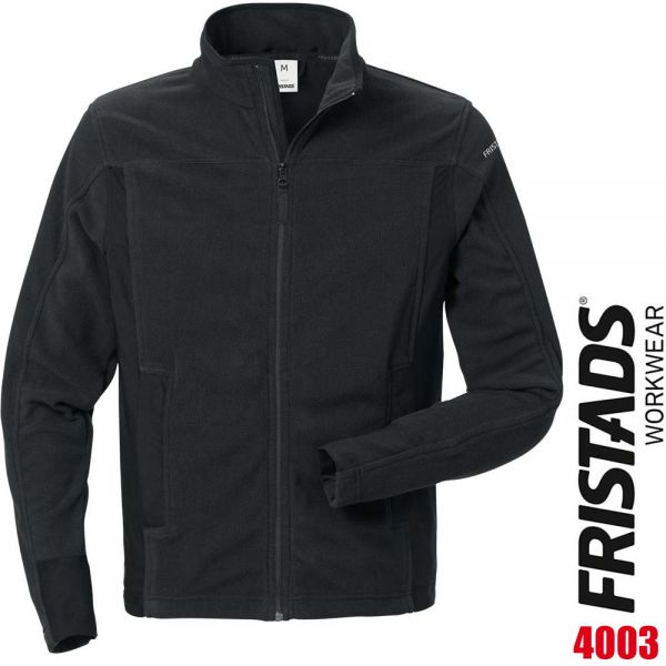Fleecejacke 4003 MFL - FRISTADS - 120966-schwarz