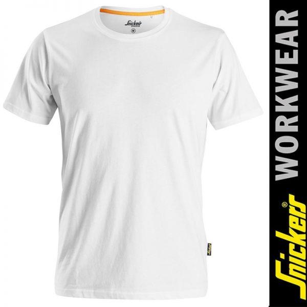 AllroundWork - T-Shirt aus Bio-Baumwolle 2526 SNICKERS Workwear-weiss