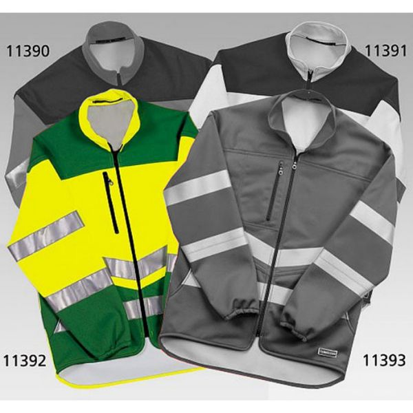 Climaclean Allwetter Warnschutzjacke, winddicht mit Klimamembrane, leuchtgelb-grün-11392