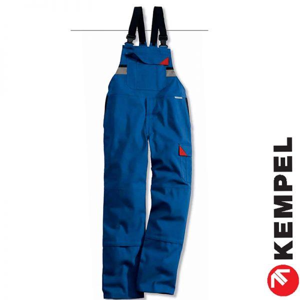 Brand-X Protect-Latzhose-Schweisserhose, wenns brenzlig wird, blau-8054
