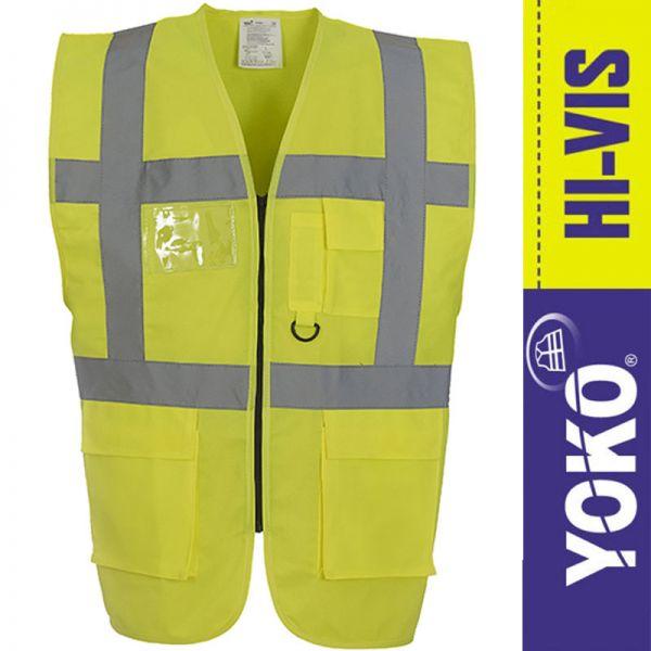 Warnweste Multi-Functional Executive - YOKO Workwear - YK801