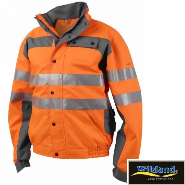 Parka Lumber Warnschutz WIKLAND -orange grau - 9676-SALE
