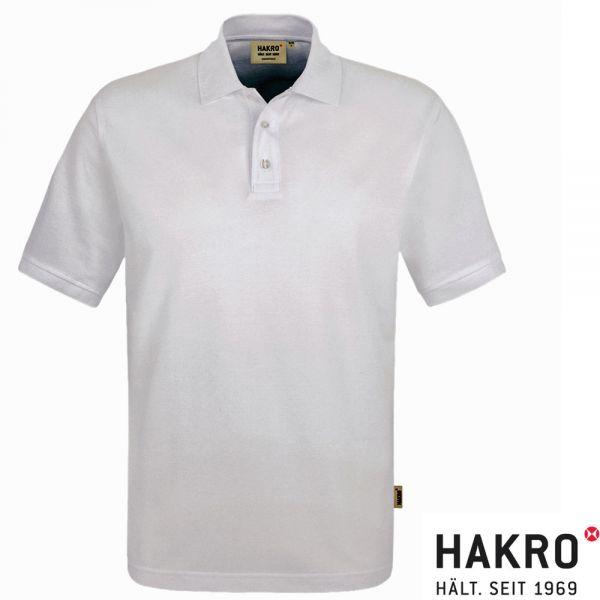 NO. 800 HAKRO POLOSHIRT TOP-001-weiss