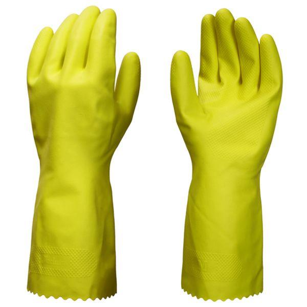 PURE & CECURE Allzweck Haushalthandschuh gelb