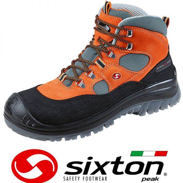 Bau-Sicherheitsschuh SIXTON LABRADOR ORANGE S3 Art. 51375