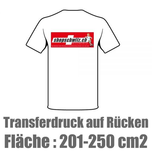 Transfer HD - Digitaldruck Fläche 201-250cm2 -