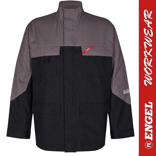 Safety + Multinorm - Jacke - ENGEL Workwear - 1234-schwarz-grau