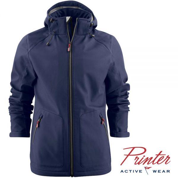 Soft Shell Karting Jacket, Printer activewear, 2261061-marineblau