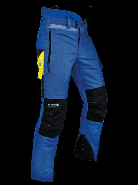 Pfanner Ventilations Schnittschutzhose - blau