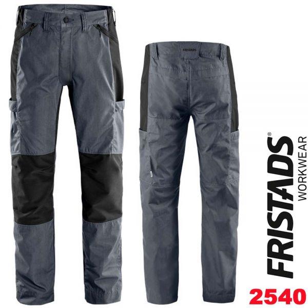 Allrounder Stretch-Hose 2540 LWR-FRISTADS- 130804-grau-schwarz