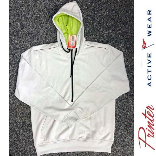 Track Sweater Jacket - grau-lime - SALE