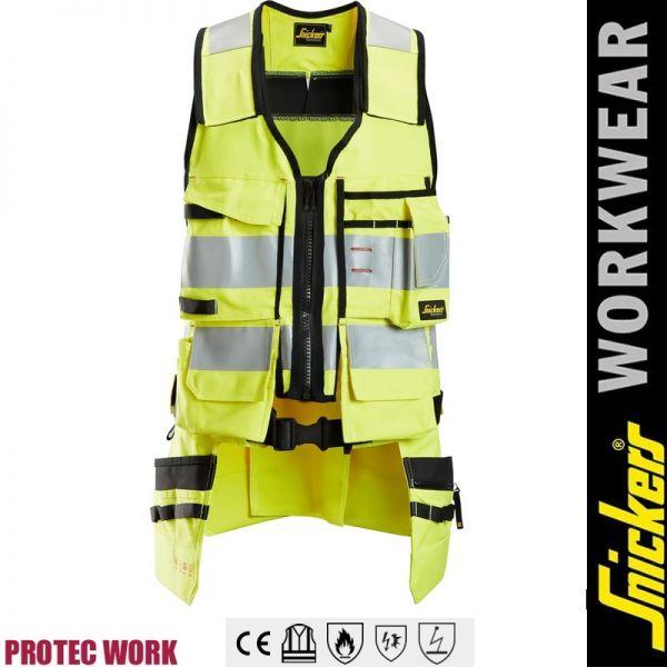 ProtecWork Arbeitsweste, Klasse1, EN14116- Flammfest-SNICKERS-4260