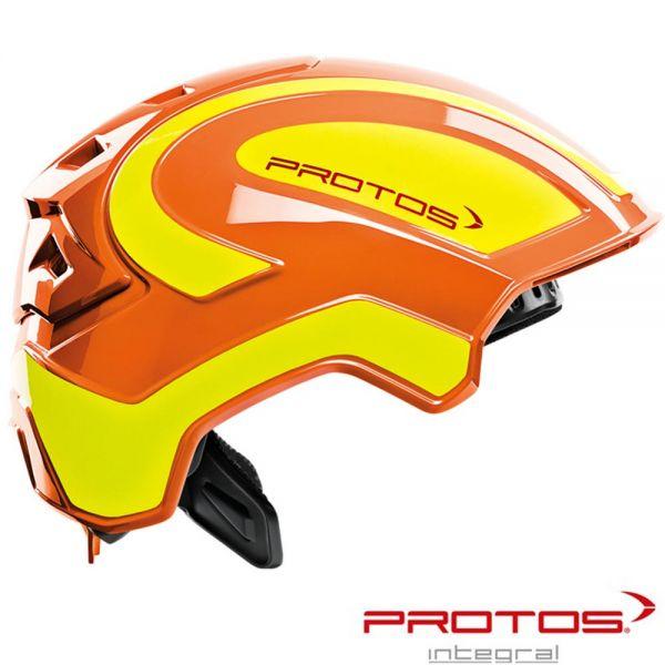 PROTOS Integral - Industry - Schutzhelm - Pfanner -orange/gelb