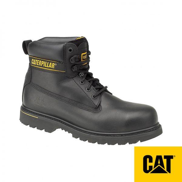 CAT Arbeitsschuh, Holton S3, schwarz, 4610438