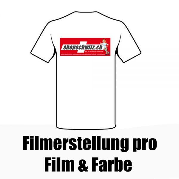 Filmerstellung pro Film und Farbe (einmalig) REF600