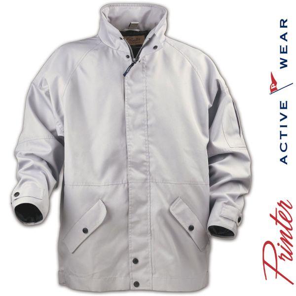 SQUEEZE Arbeits & Outdoorjacke, wasserabweisend- PRINTER Activwear-2261024-hellgrau
