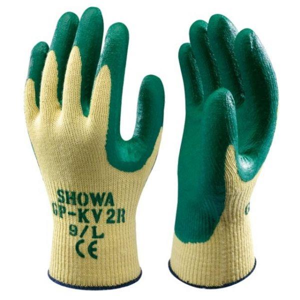 Showa Nitril-Kevlar (GP-KV2R) Schnittschutzhandschuh aus nahtlos gestricktem Kevlar (Klasse 4), 12707