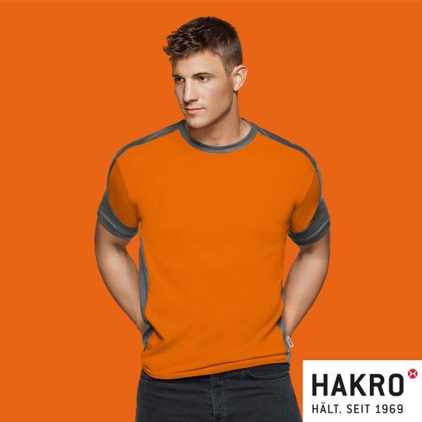 № 290 T-SHIRT CONTRAST PERFORMANCE HAKRO,