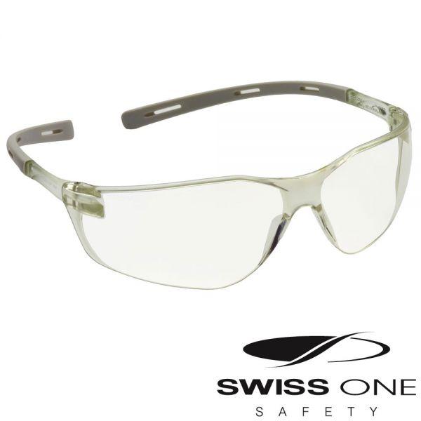 Schutzbrille RIGI SPEC - farblose Scheibe - Swiss ONE