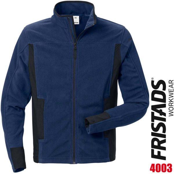 Fleecejacke 4003 MFL - FRISTADS - 120966-marine-schwarz