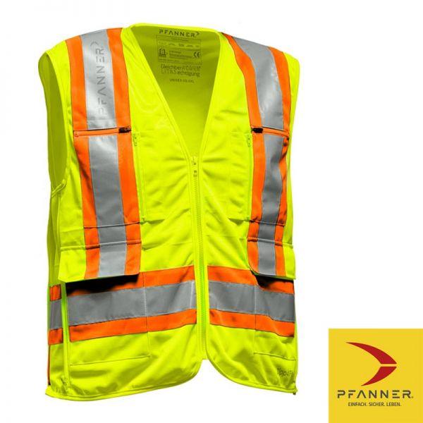 Zipp 4 Fit Weste - Pfanner - gelb - orange - 104329-17