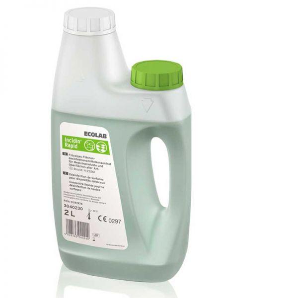 Desinfektionsmittelkonzentrat Rapid Ecolab - für Atemschutzprodukte und Chemieschutzanzüge-85962