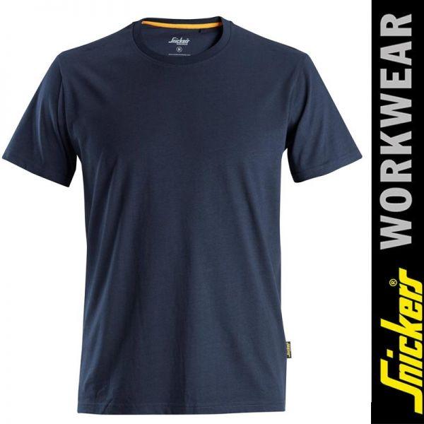 AllroundWork - T-Shirt aus Bio-Baumwolle 2526 SNICKERS Workwear-navyblau