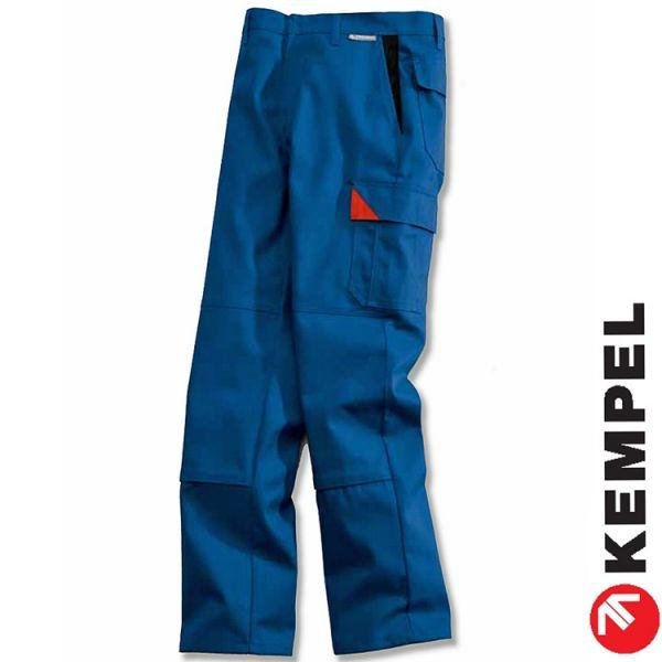 Brand-X Protect-Bundhose-Schweisserhose, wenns brenzlig wird, blau - 8053