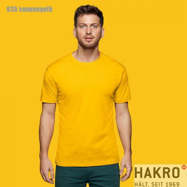 HAKRO 281,Rundhals-T-Shirt Performance-sonnengelb