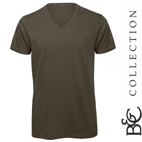 V-T-Sirt - Inspire - B&C Collections - BCTM044-khaki