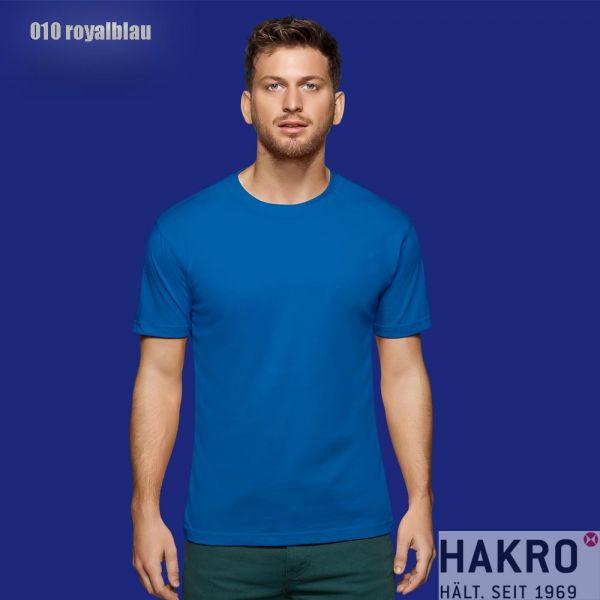 HAKRO 281,Rundhals-T-Shirt Performance-royalblau