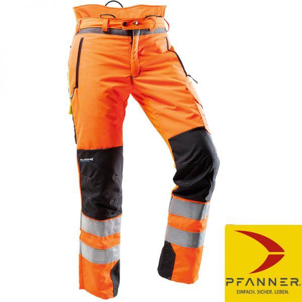 Ventilation Schnittschutzhose EN20471-orange-Pfanner-101761-25