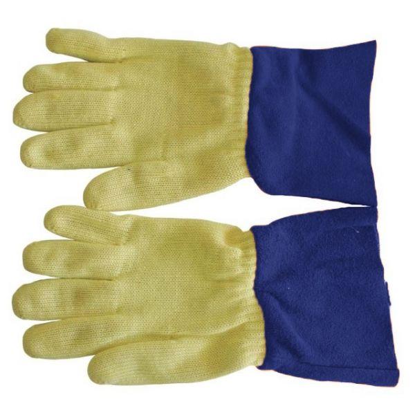 Hitzeschutzhandschuh - mit Baumwollstulpe - Gr.10 - SALE