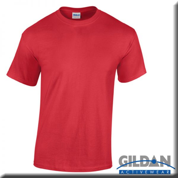 G5000 T-Shirt, Heavy Cotton, , rot-braune Töne - GILDAN