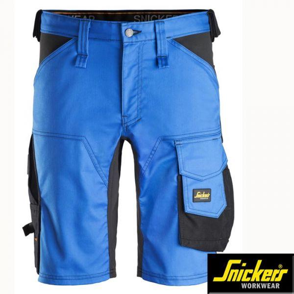 Snickers Workwear, 6143 Allround Work, Stretch Shorts-stahlblau,schwarz