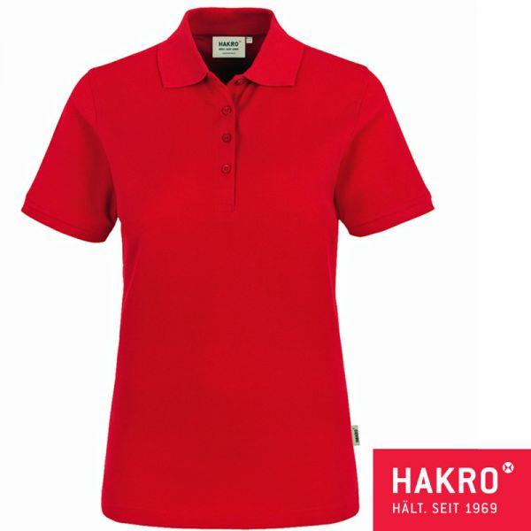 NO. 110 HAKRO DAMEN-POLOSHIRT CLASSIC