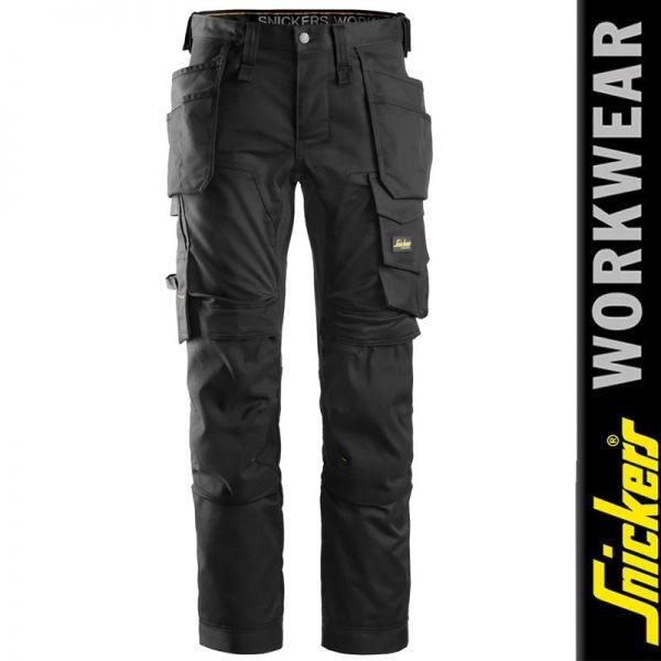 6241 AllroundWork Stretch-Arbeitshose mit Holstertaschen - SNICKERS Workwear
