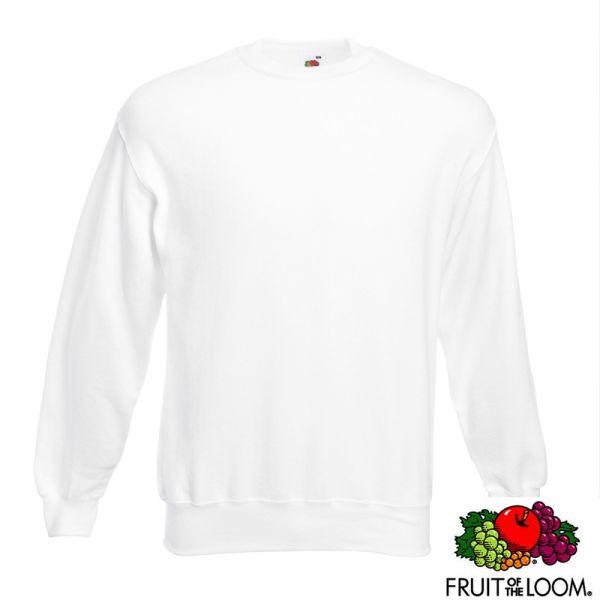 Fruit of the Loom Set-in Sweatshirt, F324_weiss