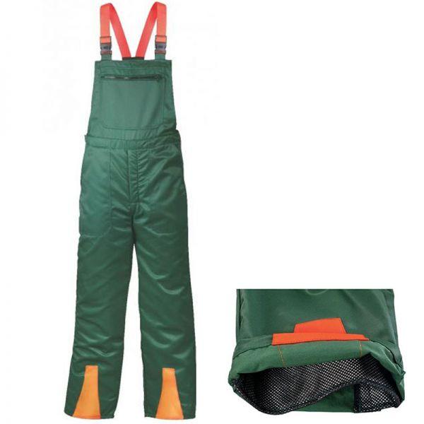 Schnittschutzlatzhose - Grün - SALE - 22760