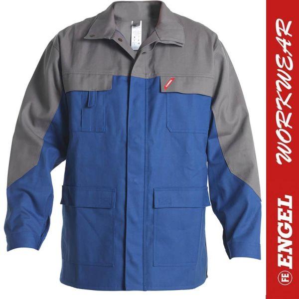 Safety + Multinorm - Jacke - ENGEL Workwear - 1234-azurblau-grau