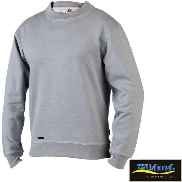 Sweatshirt, WIKLAND, 1488-grau