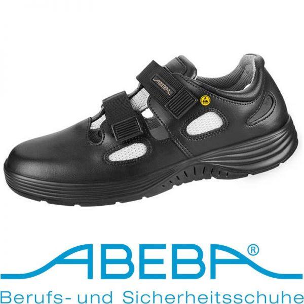 ABEBA Sandale S1 - 7131036 - schwarz