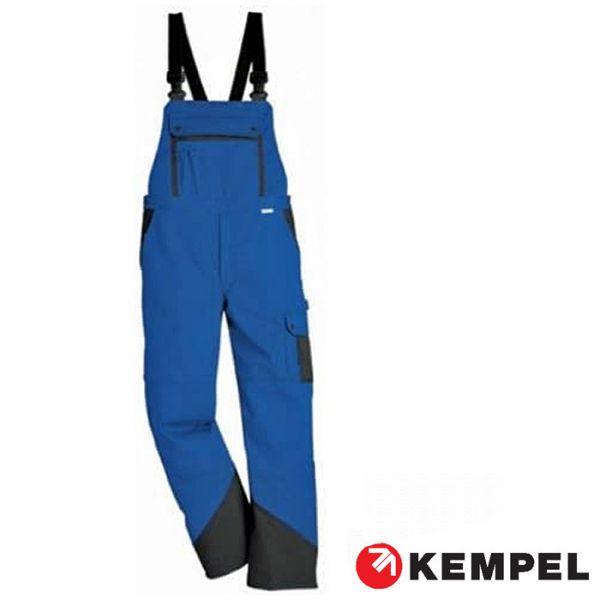Latzhosen Worktrend, Kübler, blau-anthrazit - SALE ! 6025