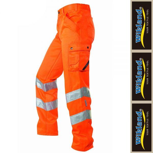 Arbeitshose ISO 20471 Wikland - 1235-orange