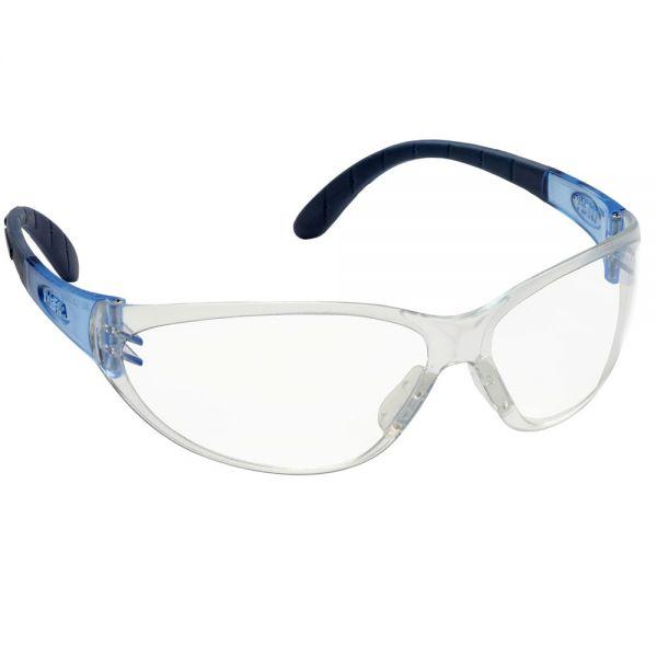 Schutzbrille MSA - Perspecta 9000 - blaue weiche Bügel