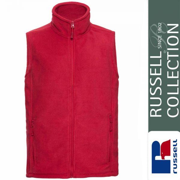 Men's Outdoor Fleece Gilet, Russel - Z8720