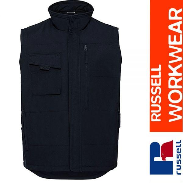 Heavy Duty Workwear Gilet, Russel - Z014-navy