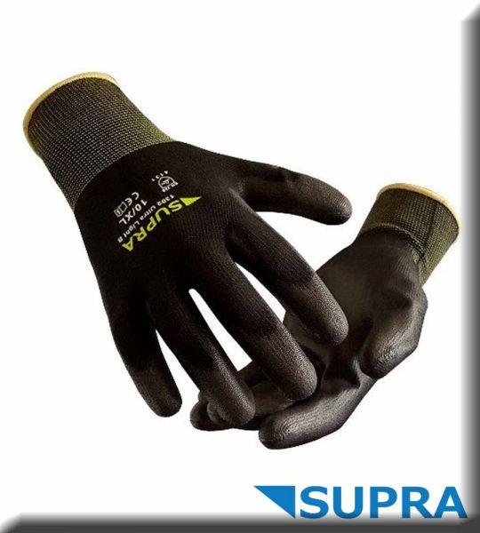 SUPRA Safety Ultra Light B, Feinstrickhandschuh mit PU-Beschichtung 1302
